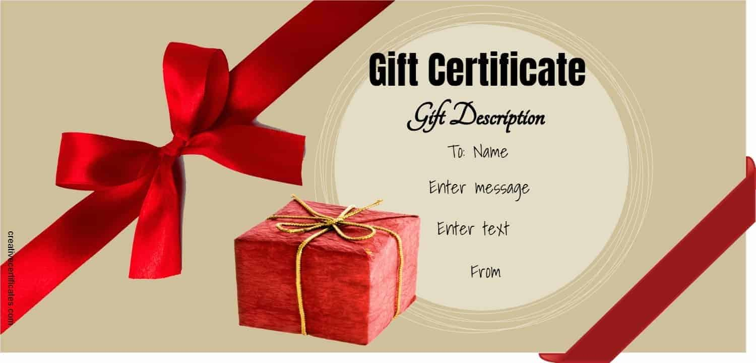 FREE Gift Certificate Template | 50+ Designs | Customize ...