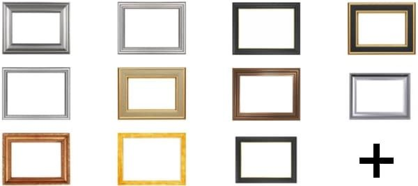 picture frame borders