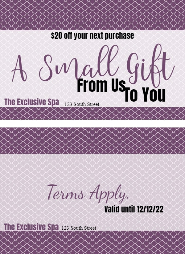 FREE Gift Certificate Template   50+ Designs   Customize ...